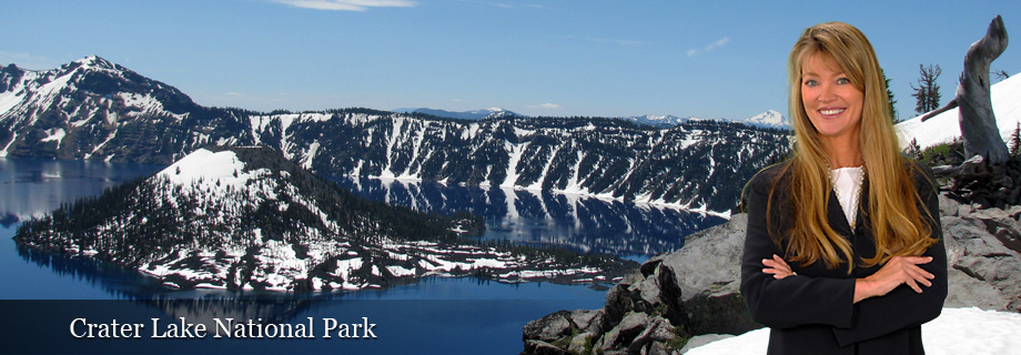 Crater Lake National Park in Klamath County Oregon by Pam Lester Real Estate Investment Homes and Vacation Homes