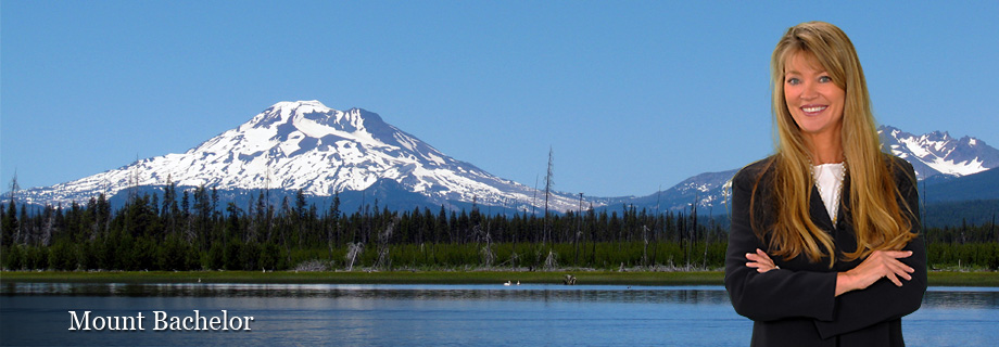 Mount Bachelor and Ski Resort near Bend Oregon and Sunriver Oregon from Cascade Lakes Scenic Byway by Pam Lester Century 21 Realtor