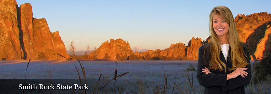 Smith Rock State Park near Terrebonne Oregon and Crooked River Ranch Oregon, Jefferson County by Pam Lester Realtor Property Investment Company
