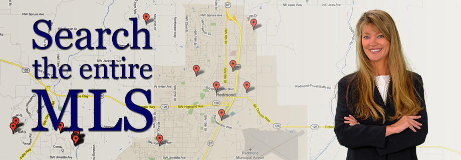 Central Oregon Real Estate MLS Map Search by Pam Lester Redmond Oregon Homefinder